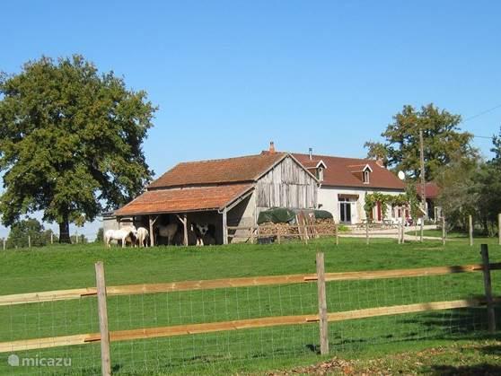 Vakantiehuis Frankrijk, Auvergne, Saint-Aubin-le-Monial Boerderij Les Vernelles