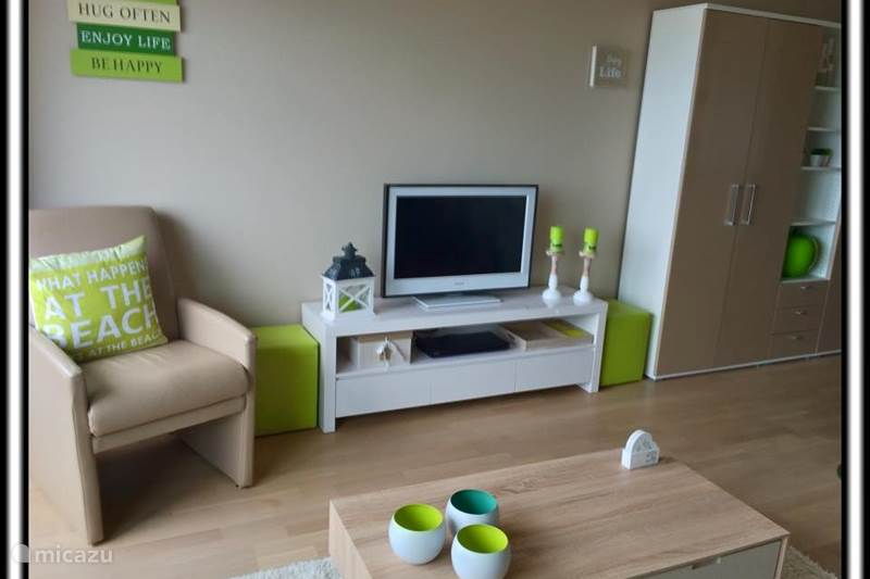 Vacation rental Belgium, Belgian Coast, Blankenberge Studio B-line studio seaview