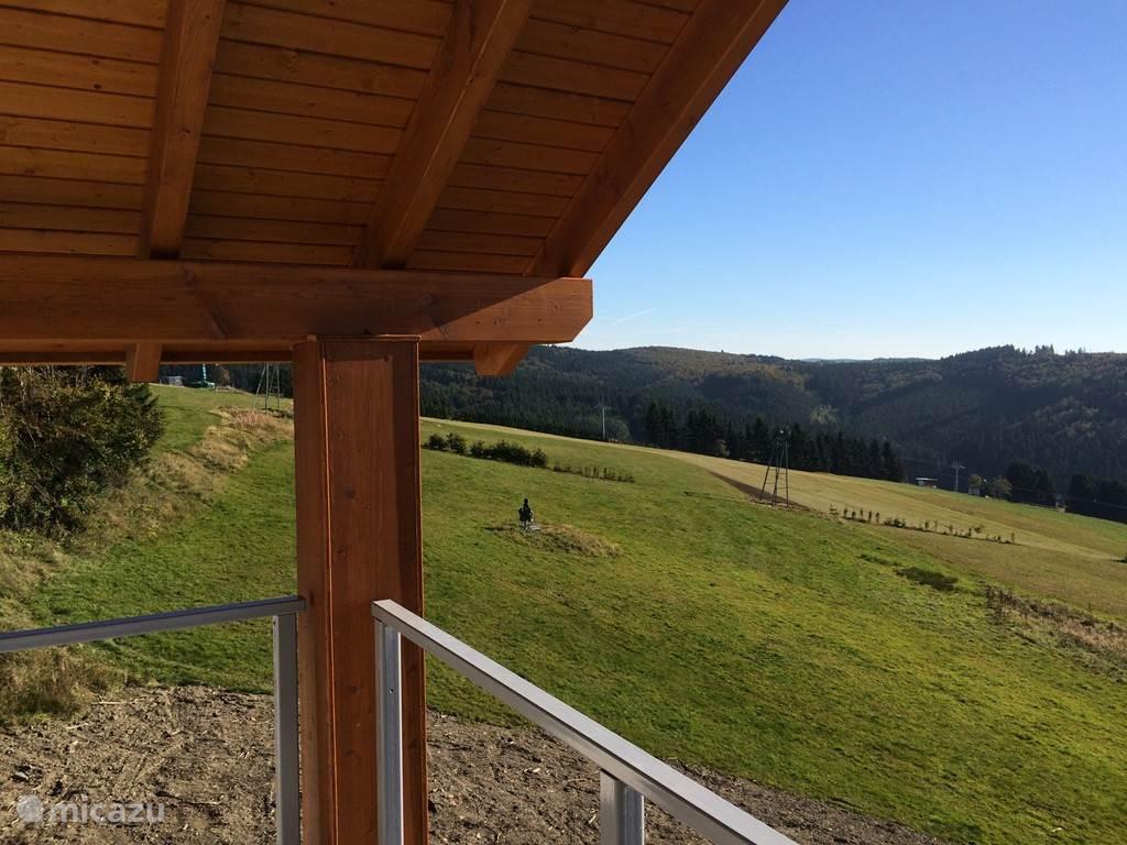 Prachtige uitzicht vanaf ons terras