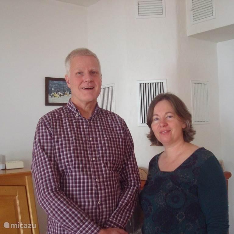 Brigitte en Nicolaas Thuijs