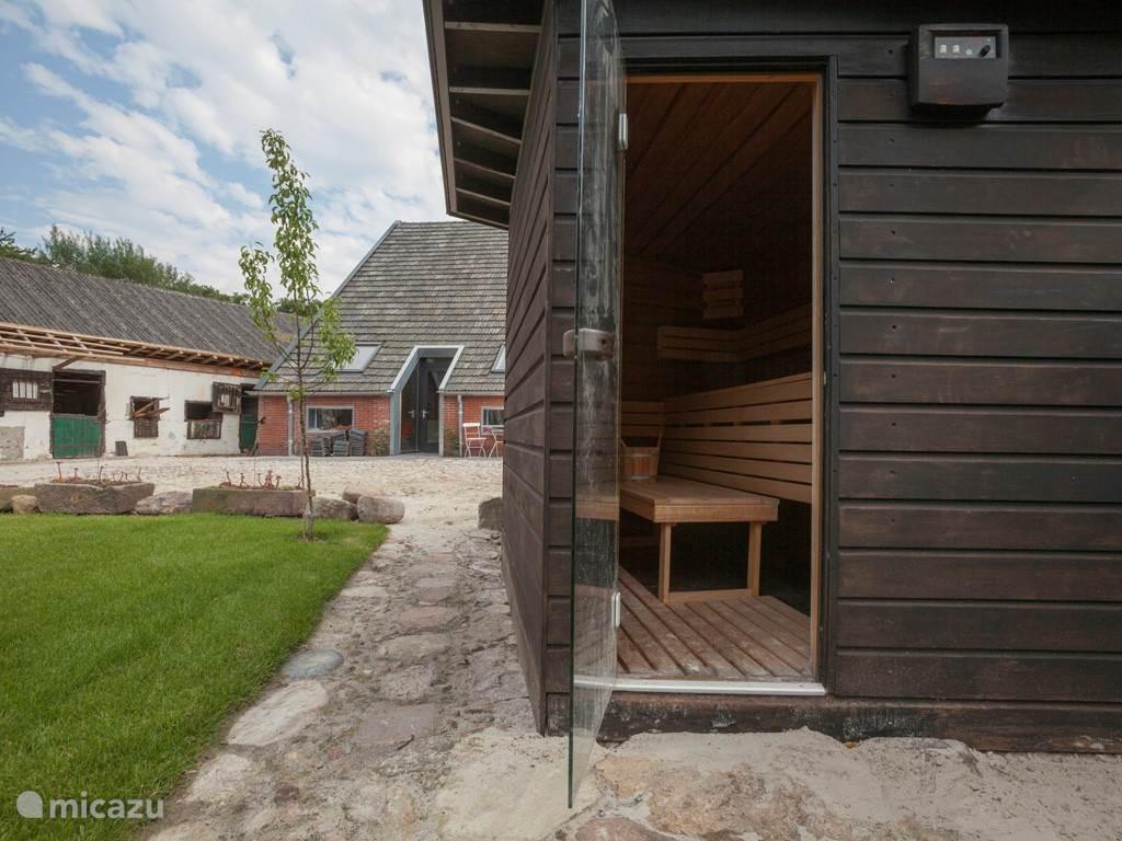 Sauna en appartementen