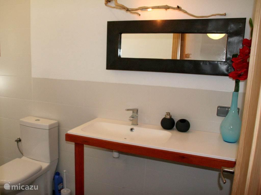 Badkamer van het appartement