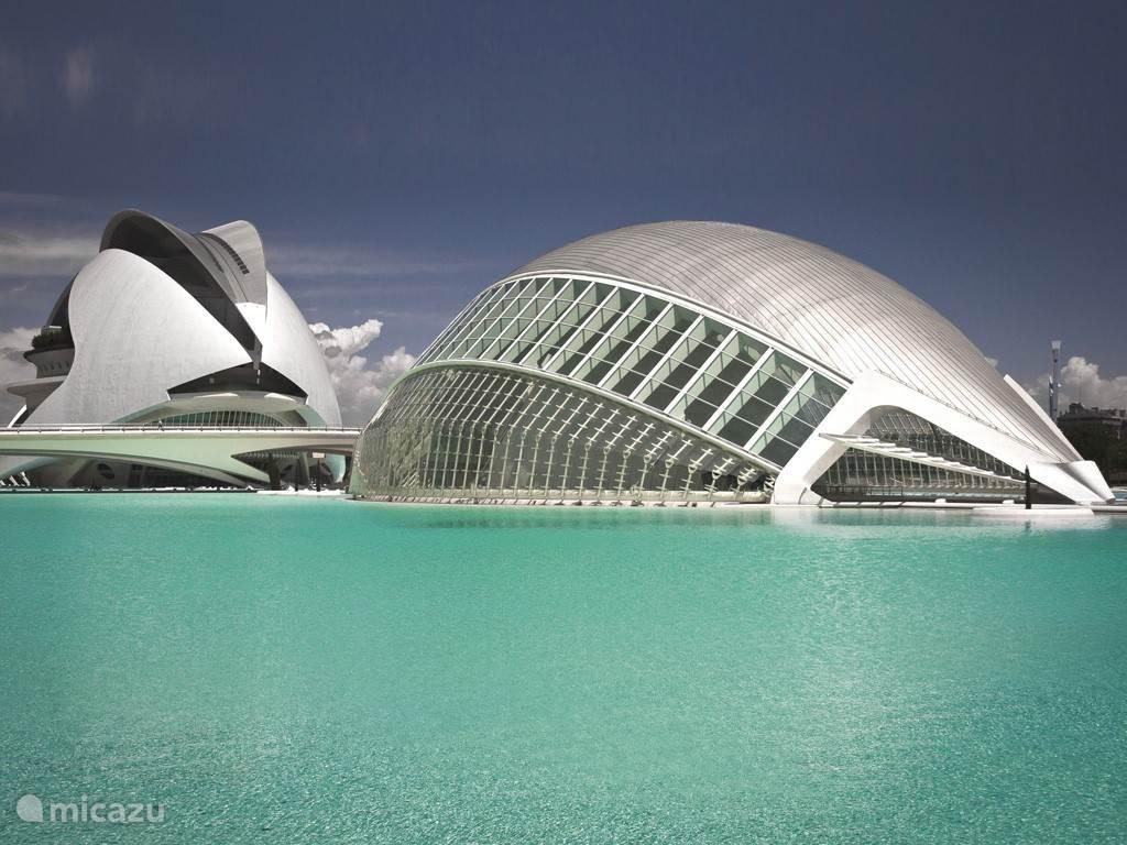 Valencia, 3e stad van Spanje, dichtbij genoeg voor een dagtrip