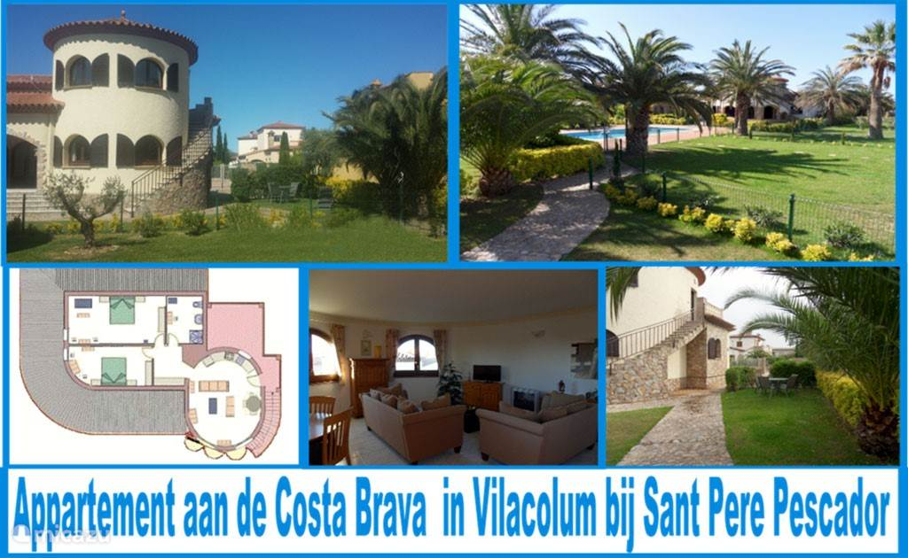 Appartement aan de Costa Brava in Vilacolum