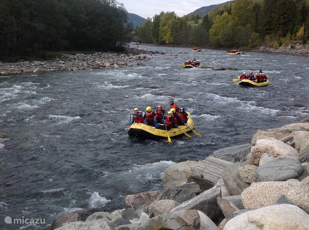 Jotunheimen / Rafting