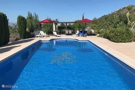 Vakantiehuis Spanje, Costa Blanca, Hondón de las Nieves - bungalow Las Casitas La Ladera Casita 2