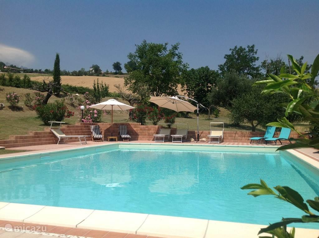 Vakantiehuis Italië, Abruzzen, Montebello di Bertona Vakantiehuis Casa Montebello