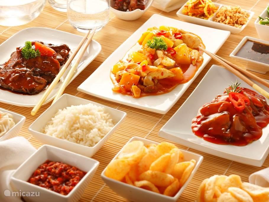 Wij zijn de enige gasthof waar je Indonesisch kan eten.