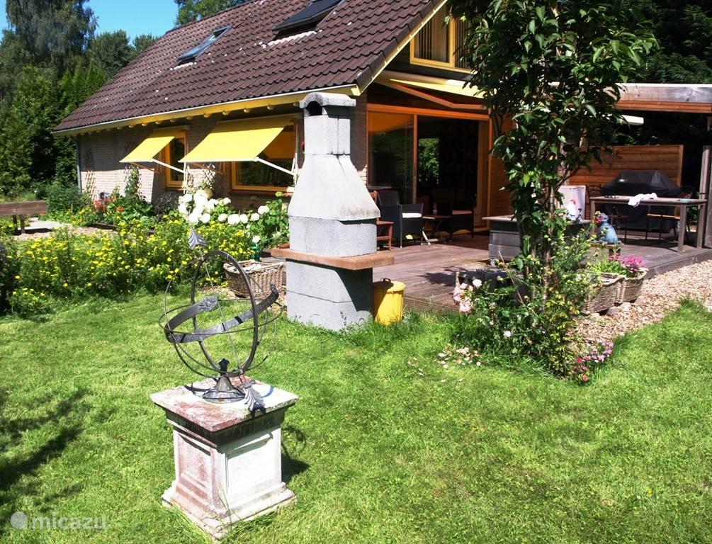 Vakantiehuis Nederland, Drenthe, Zorgvlied - vakantiehuis Boekenvilla Drents Friese Wold