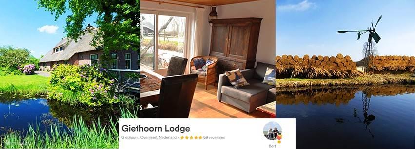 Omslag foto Giethoorn Lodge