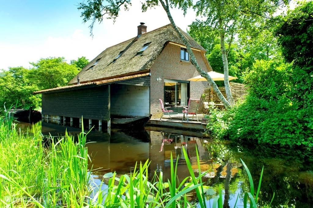 Vakantiehuis Nederland, Overijssel, Giethoorn Vakantiehuis Giethoorn Lodge