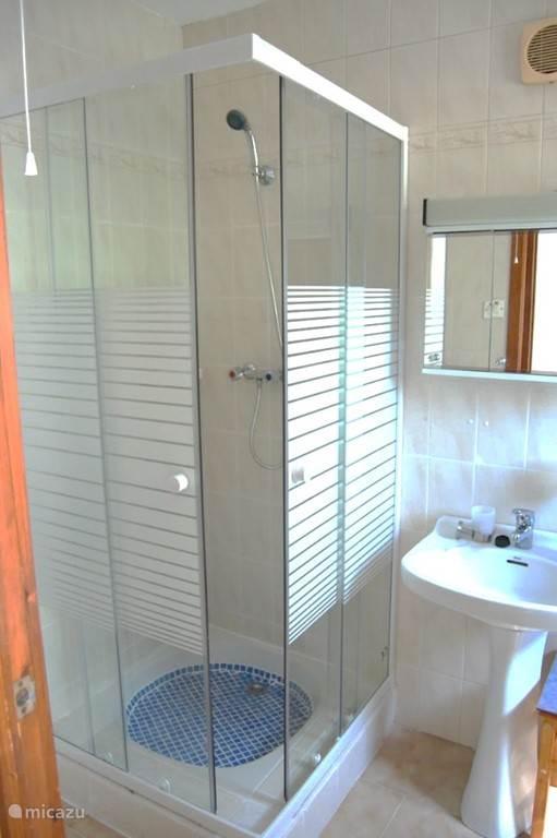 badkamer II met wc en douche