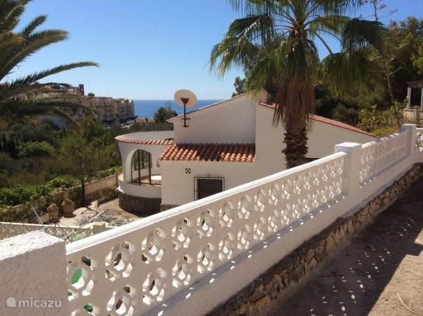 Vakantiehuis Spanje, Costa Blanca, Calpe vakantiehuis Mooi Mediterraans huisje