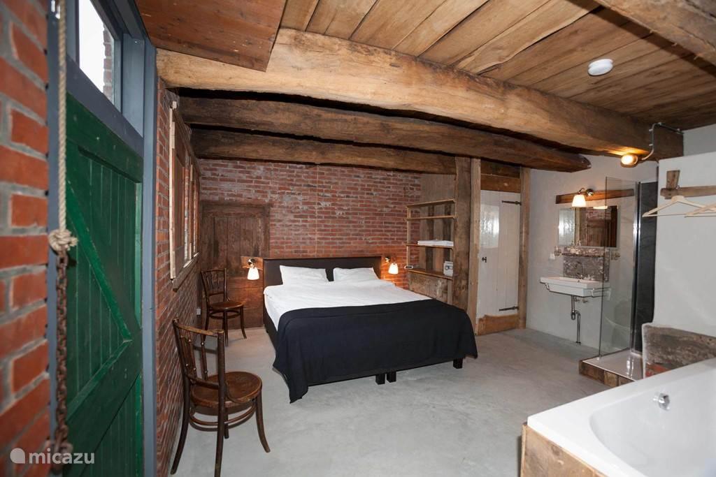 Slaapkamer met bad PaardenStee