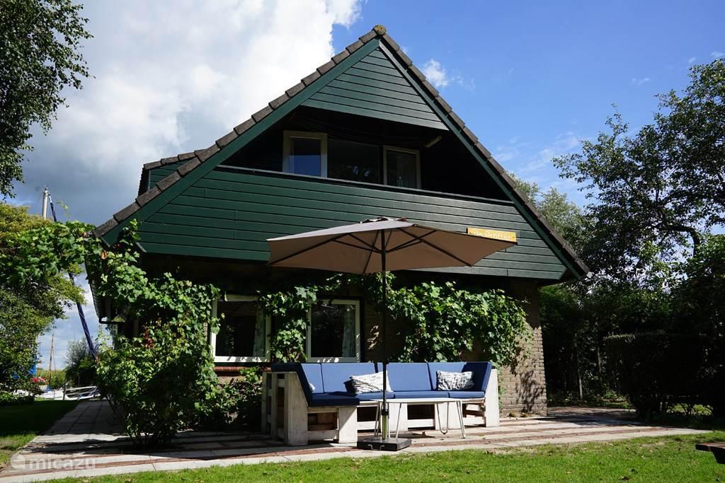 Vakantiehuis Nederland, Friesland, Idskenhuizen Vakantiehuis Huis aan het water: de Protter