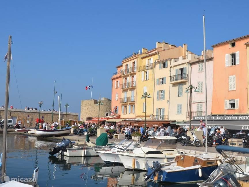 De haven van Saint-Tropez