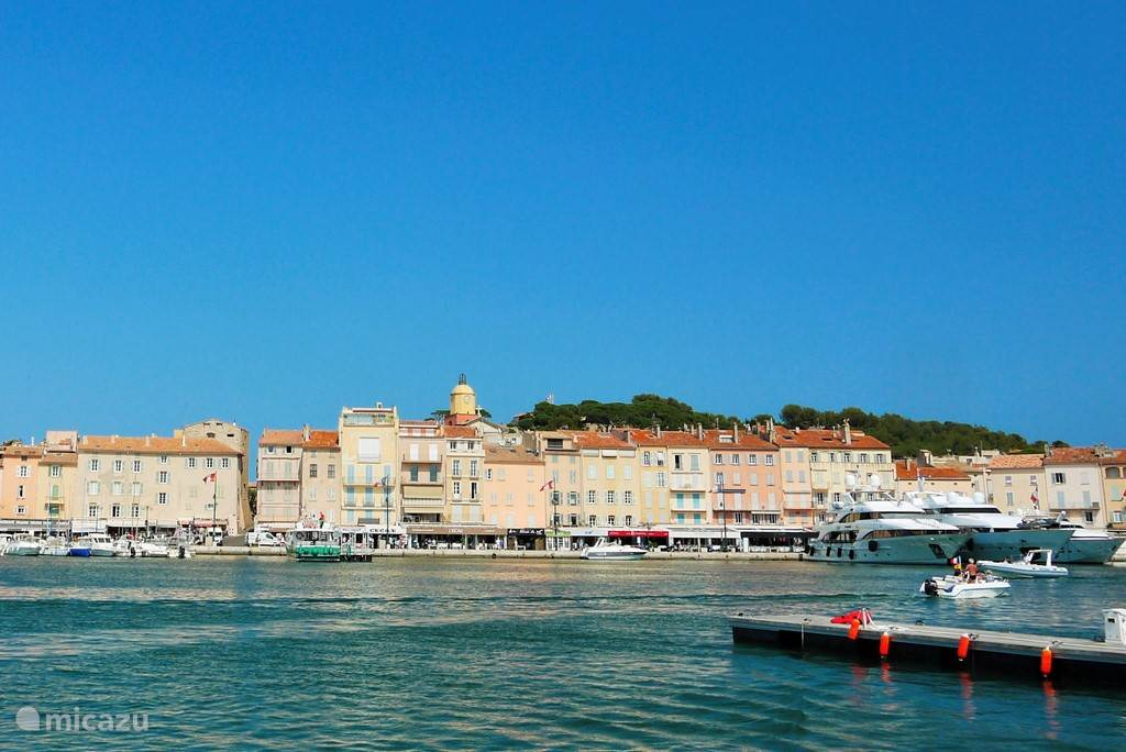 Saint-Tropez op 25 minuten afstand