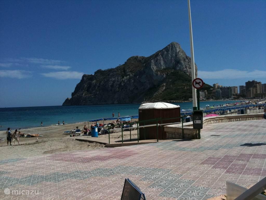 Vakantiehuis Spanje, Costa Blanca, Calpe Appartement Appartamentos Mediteraneo