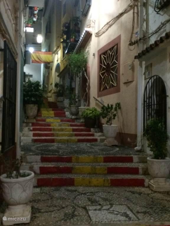 oude centrum Calpe