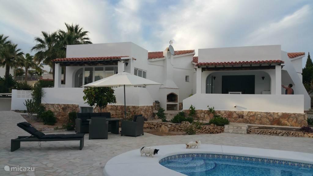 Vakantiehuis Spanje, Costa Blanca, Calpe vakantiehuis Villa Calpe (2 vakantie woningen)