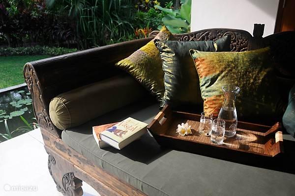 Relaxing op de veranda