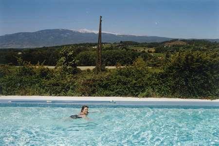 Vakantiehuis Frankrijk, Vaucluse – villa Uniek uitzicht op de Mont Ventoux