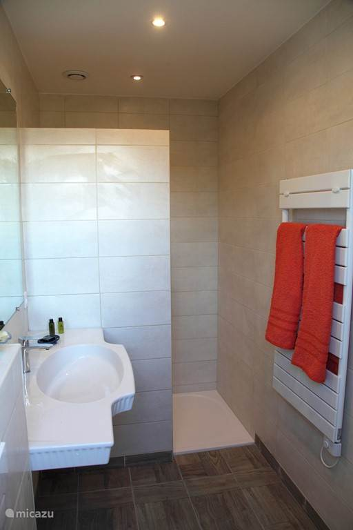 Bathroom in the room Marjolaine.