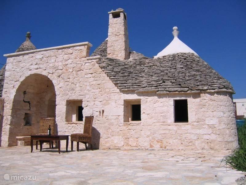 Vakantiehuis Italië, Apulië, Martina Franca Gîte / Cottage Trullo del Sole