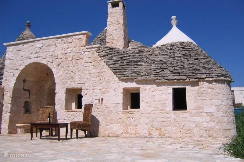 Vakantiehuis Italië, Apulië (Puglia) , Martina Franca Gîte / Cottage Trullo del Sole