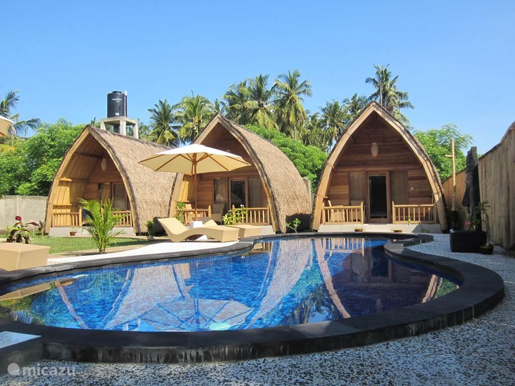 Duiken / snorkelen, Indonesië, Gili-Eilanden, Gili Air, bed & breakfast Djamezz Lumbung