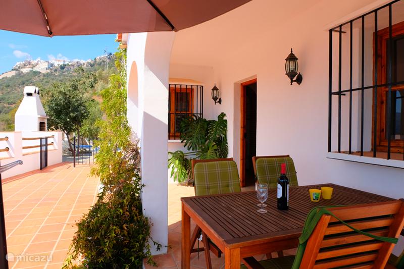 Vakantiehuis Spanje, Costa del Sol, Comares Villa Villa Pampa + heerlijk prive Zwembad