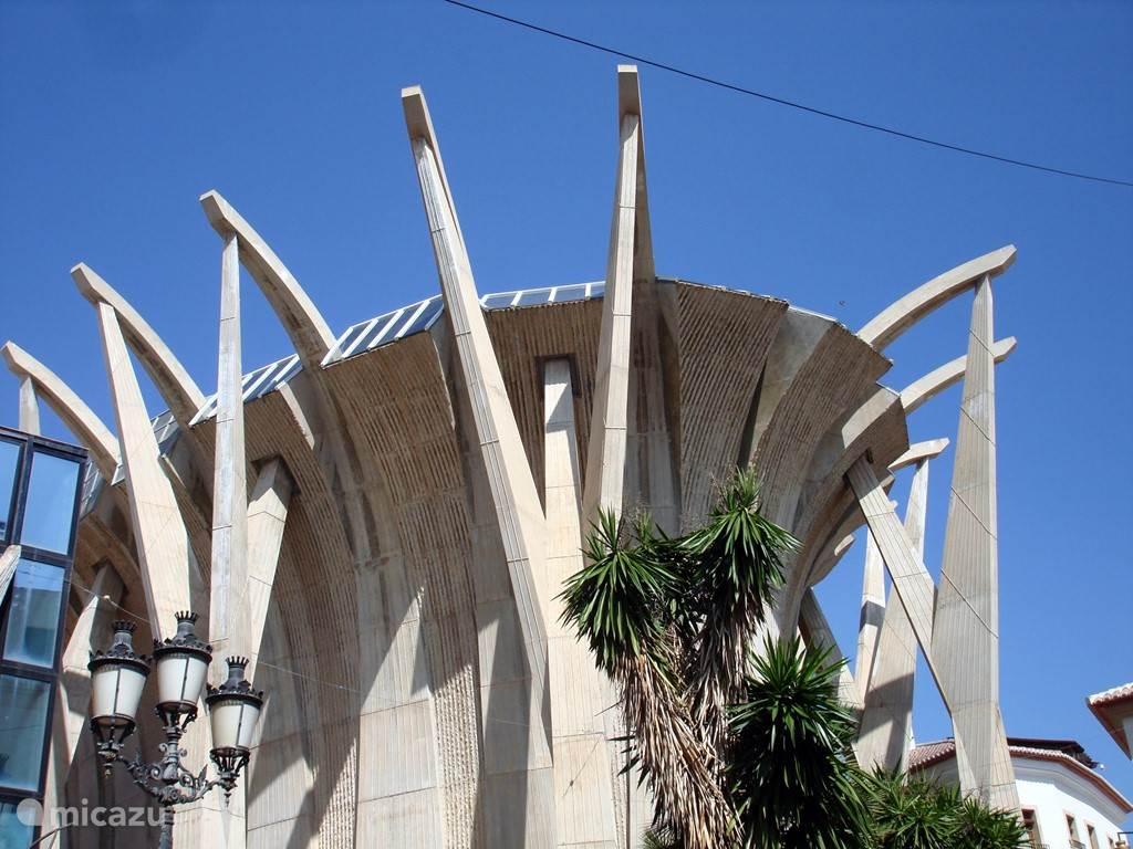 Visserskerk in de haven