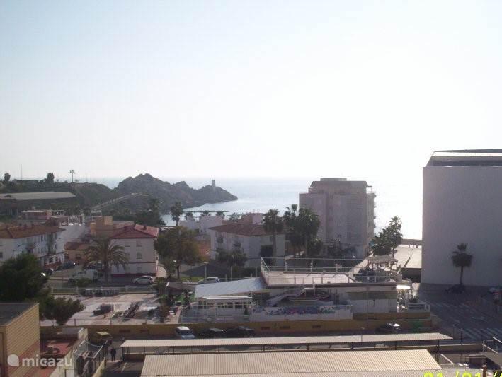 uitzicht vanuit het appartement