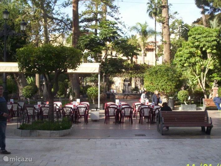 plaza d espagna, centrum van aguilas