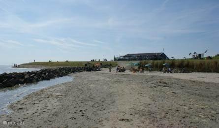 Strand en Strandbrasserie de Landing