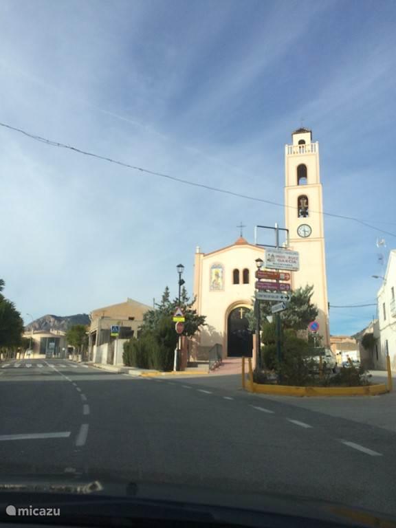 Het kerkje in Macisvenda