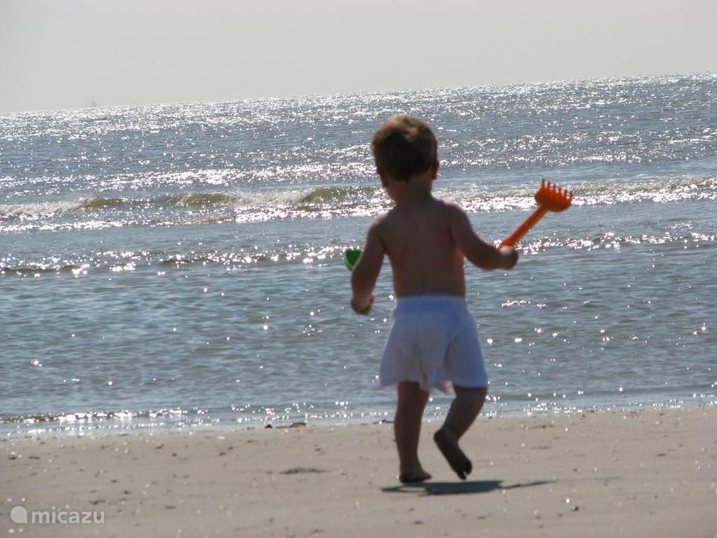 Het strand is en blijft een belevenis!