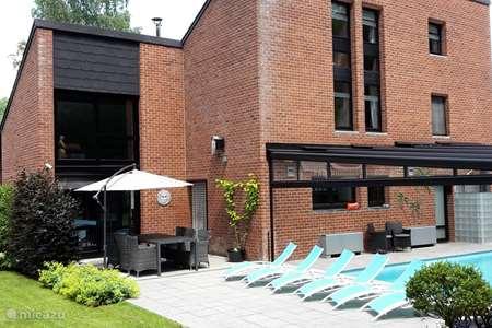 Vakantiehuis België, Ardennen, Verlaine-sur-Ourthe - villa Wellness Villa Romantica