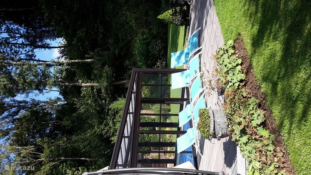 Gesloten achtertuin