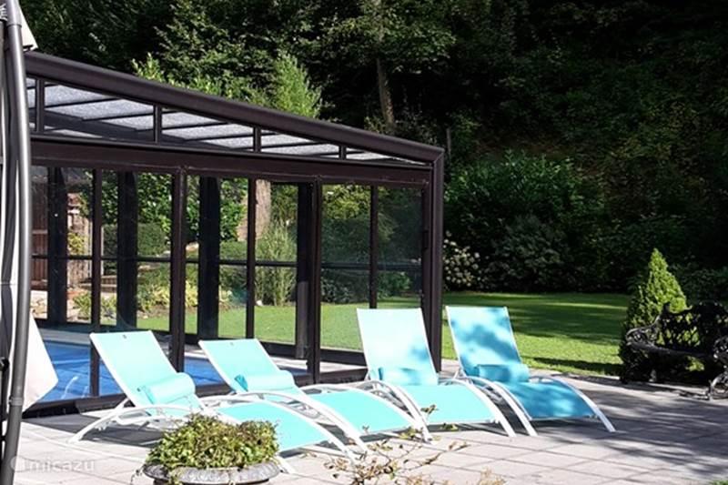 Vakantiehuis België, Ardennen, Bomal-sur-Ourthe Villa Wellness Villa Romantica