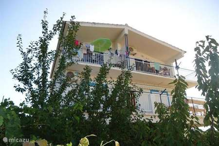 Vakantiehuis Kroatië, Dalmatië, Tribunj - appartement Appartement D - Mladenka Tribunj