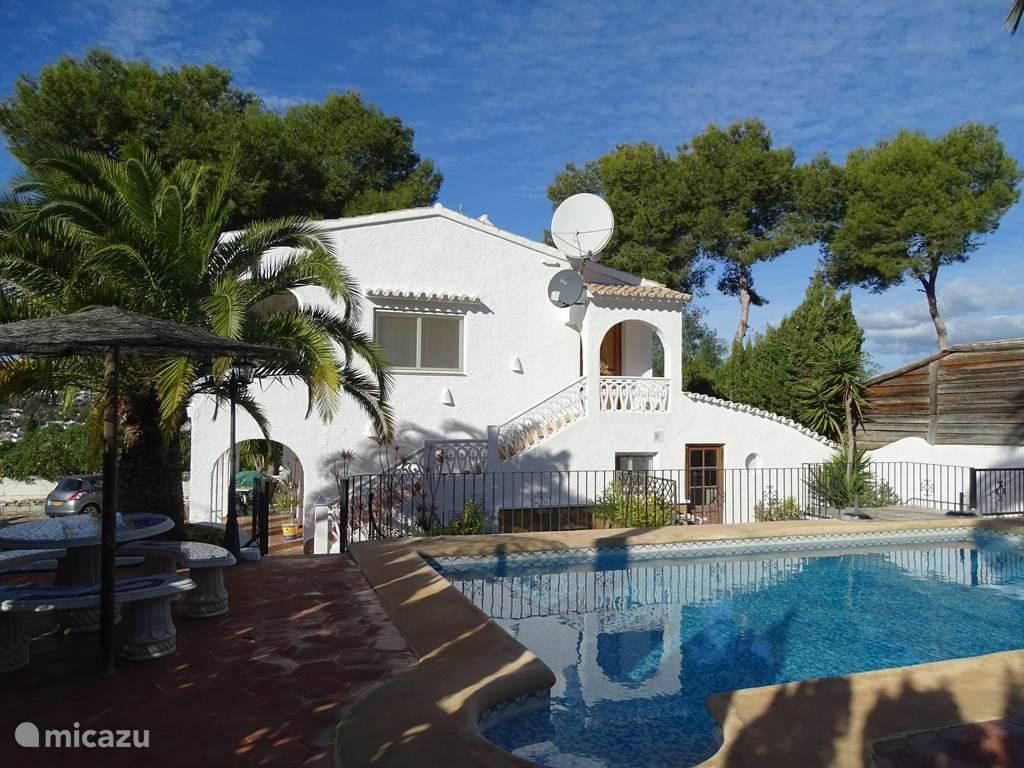 Vakantiehuis Spanje, Costa Blanca, Moraira Appartement De Drie Palmen