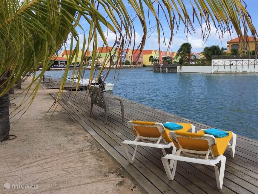 Entspannen an der Lagune.
