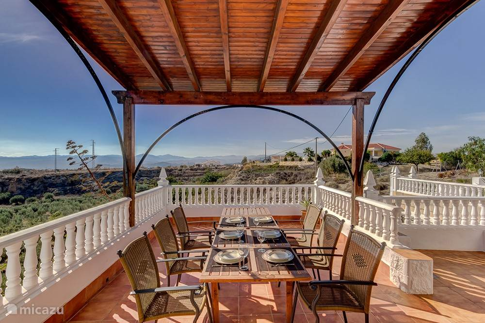 Terras appartement Granada