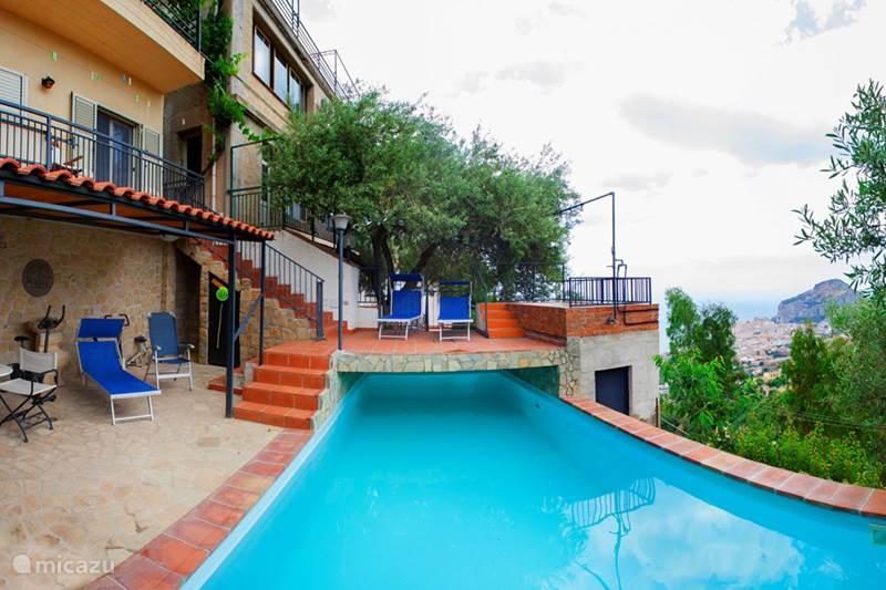 Vakantiehuis Italië, Sicilië, Cefalù Appartement La Mimosa