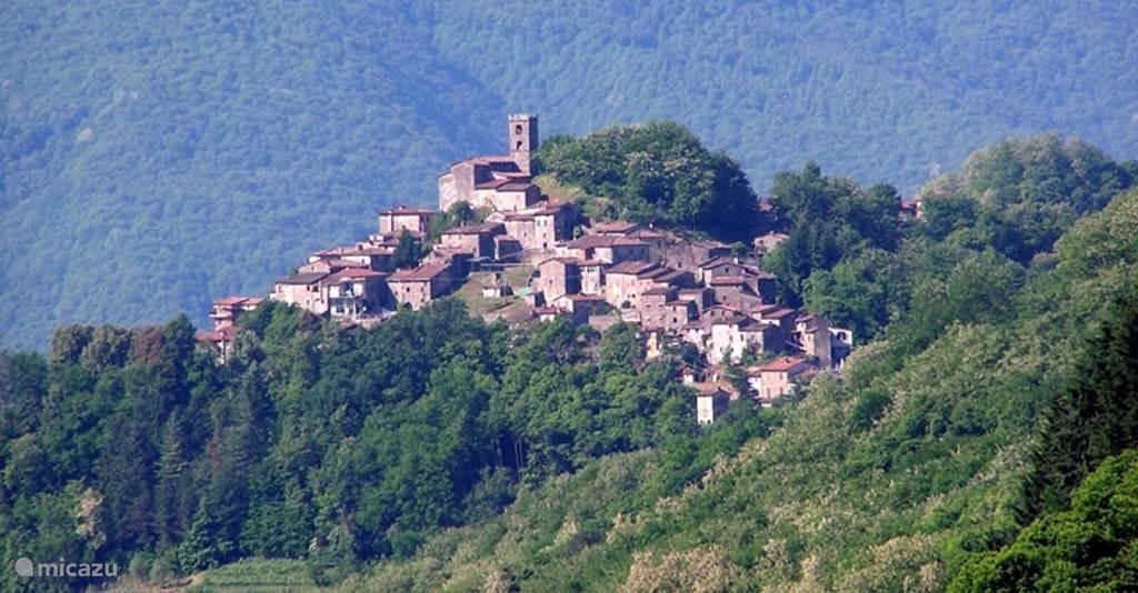 Vakantiehuis Italië, Toscane, Tereglio Vakantiehuis Bella Vista