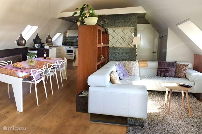 Vakantiehuis Nederland, Gelderland, Welsum Vakantiehuis Luxe dijkhuis met uniek IJsselzicht