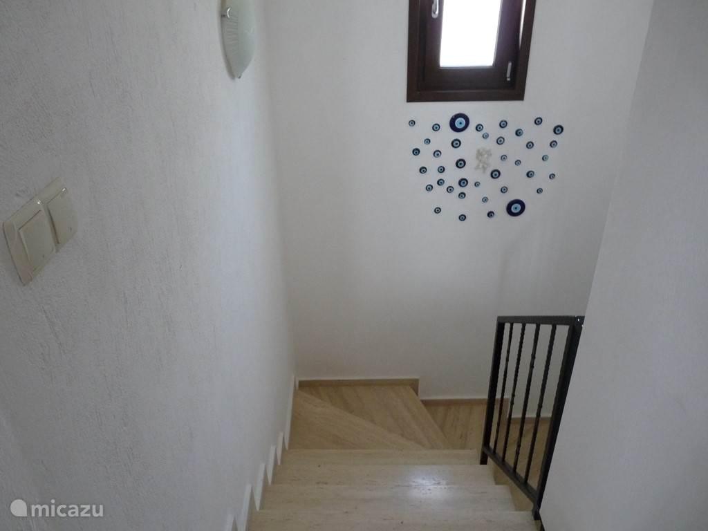 Traphal maar de bovenliggende verdiepingen