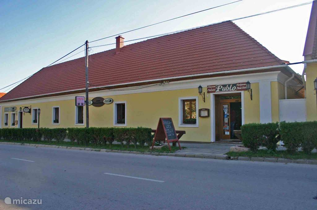 A restaurant in the village for good pizza and local dishes
