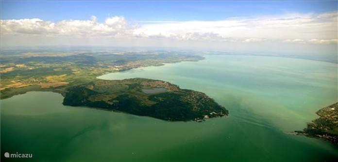 Lake Balaton, a beautiful drive from Casa Floriana